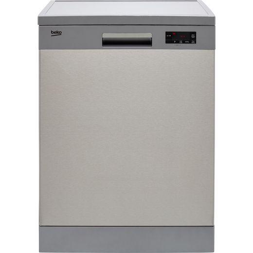 Beko DFN16430X Standard Dishwasher - Stainless Steel
