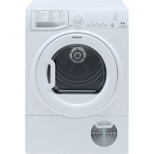 Hotpoint TCFS83BGP 8Kg Condenser Tumble Dryer - White - B Rated
