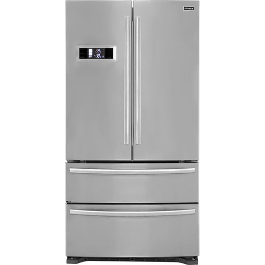 Stoves FD90SS American Fridge Freezer - Stainless Steel - E Rated