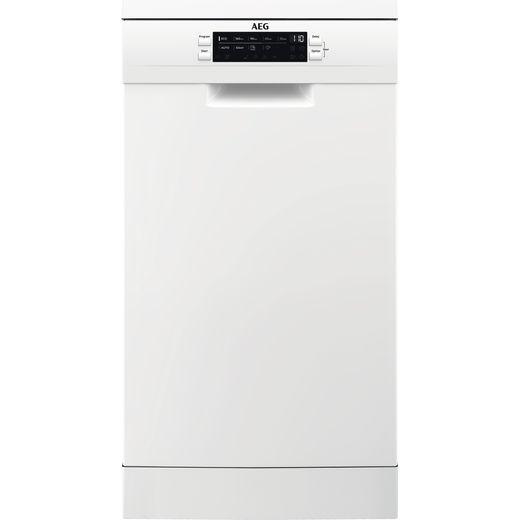 AEG FFB62407ZW Slimline Dishwasher - White - A++ Rated
