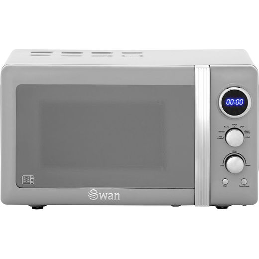 Swan Retro SM22030GRN 20 Litre Microwave - Grey