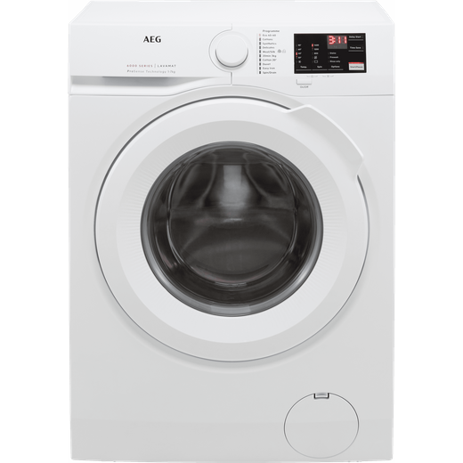 AEG ProSense Technology L6FBJ741N 7Kg Washing Machine with 1400 rpm - White - D Rated