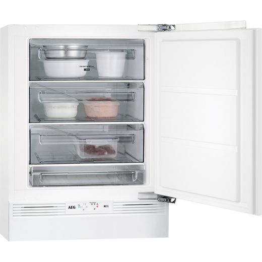 AEG ABB682F1AF Integrated Under Counter Freezer with Fixed Door Fixing Kit - F Rated