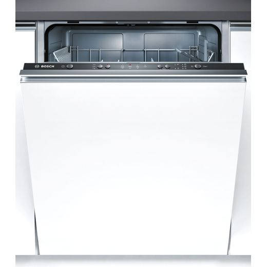 Bosch Serie 2 SMV40C30GB Fully Integrated Standard Dishwasher - Black Control Panel with Fixed Door Fixing Kit - F Rated