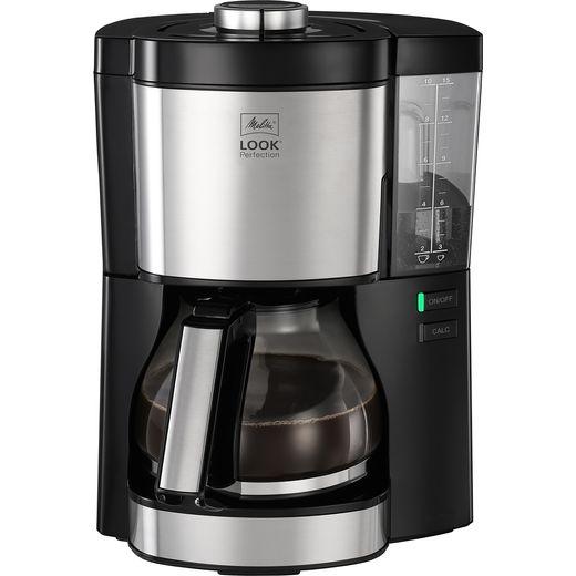 Melitta Look V Perfection Black 1025-06 6766589 Filter Coffee Machine - Black / Stainless Steel
