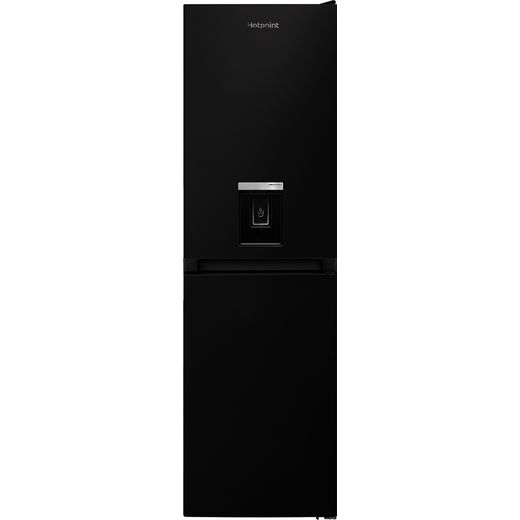 Hotpoint HBNF55181BAQUAUK1 50/50 Frost Free Fridge Freezer - Black - F Rated