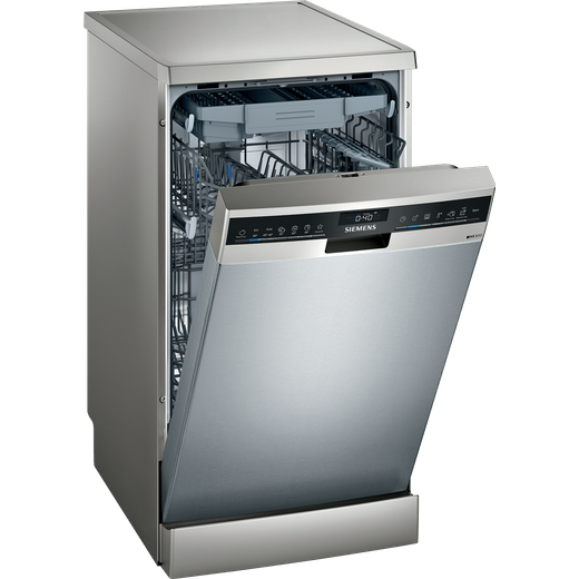 Siemens IQ-300 SR23EI28ME Wifi Connected Slimline Dishwasher - Stainless Steel - D Rated