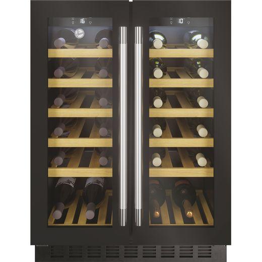 Hoover HWCB60DDUKBM/N Built In Wine Cooler - Black - G Rated