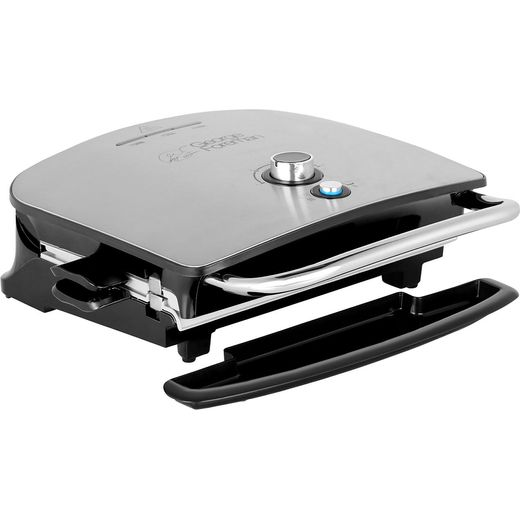 George Foreman Grill & Melt Advanced 22160 Health Grill - Silver