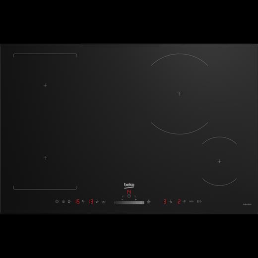 Beko HII84500FHT 77cm Induction Hob - Black