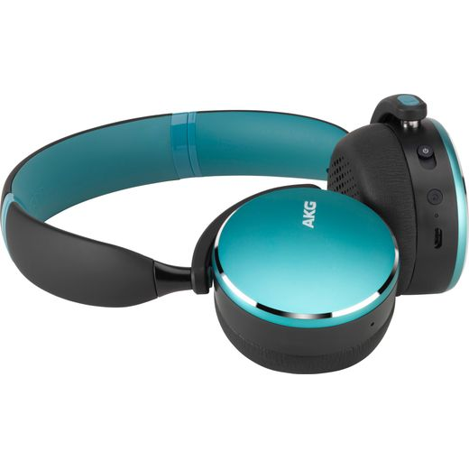 AKG Y500 Over-Ear Wireless Bluetooth Headphones - Green