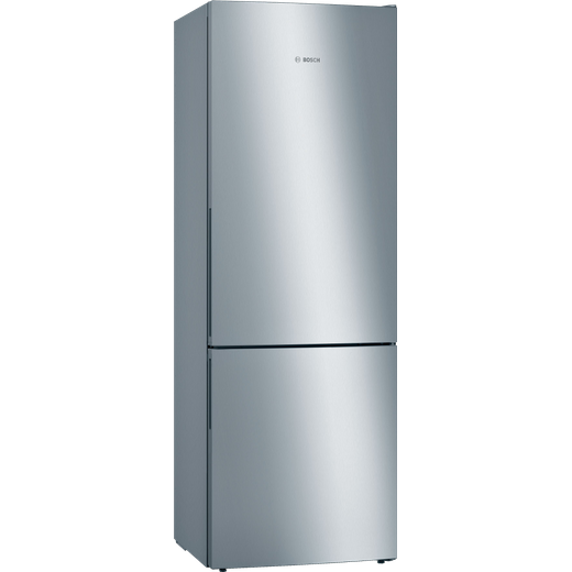 Bosch Serie 6 KGE49AICAG 70/30 Fridge Freezer - Stainless Steel Effect - C Rated