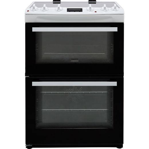 Zanussi ZCV66250WA Electric Cooker - White - Needs 1.11KW Electrical Connection