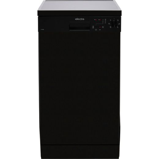 Electra C1745BE Slimline Dishwasher - Black
