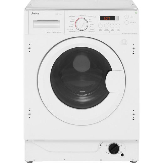 Amica AWDT814S Integrated 8Kg / 6Kg Washer Dryer with 1400 rpm - White - E Rated