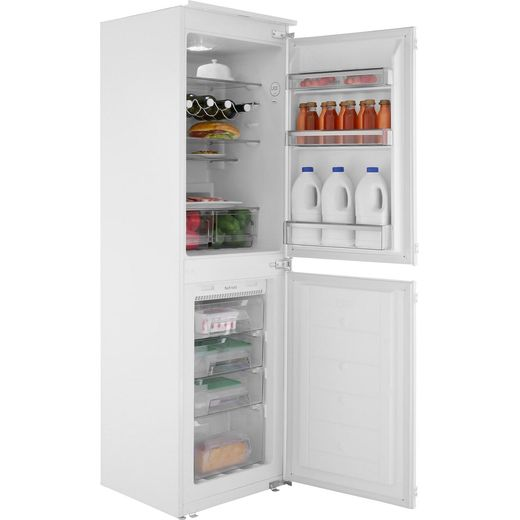 Amica BK296.3FA Integrated 50/50 Frost Free Fridge Freezer with Sliding Door Fixing Kit - White - F Rated
