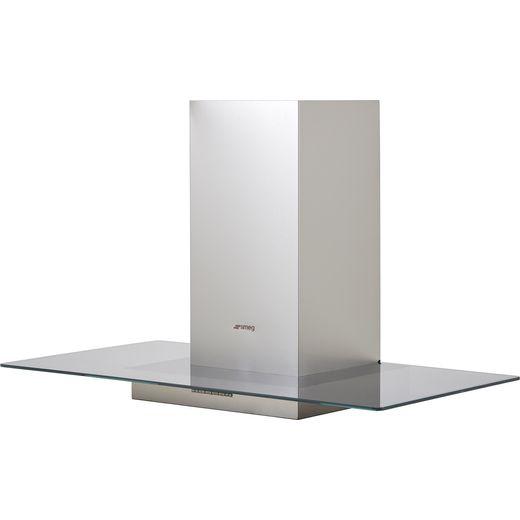 Smeg KBT900VE 90 cm Chimney Cooker Hood - Stainless Steel - B Rated