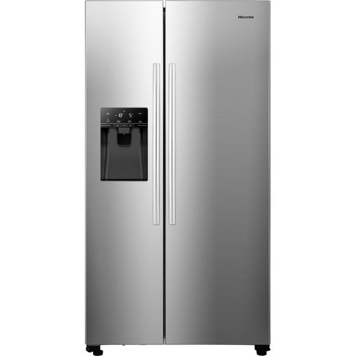 Hisense RS694N4ICF American Fridge Freezer - Stainless Steel - F Rated