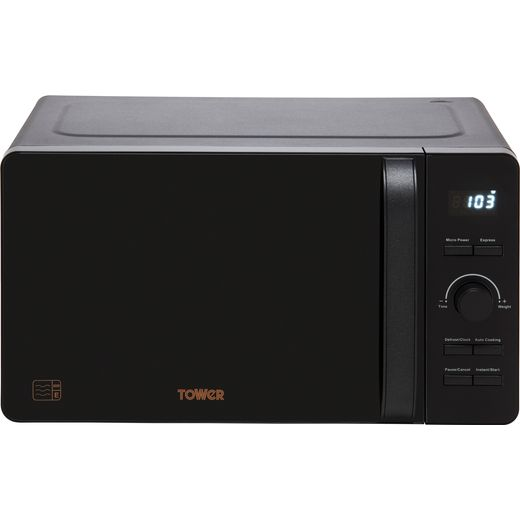Tower T24021BS Microwave - Black