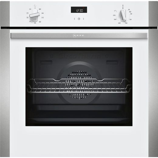 NEFF N50 B1ACE4HW0B Built In Electric Single Oven - White - A Rated