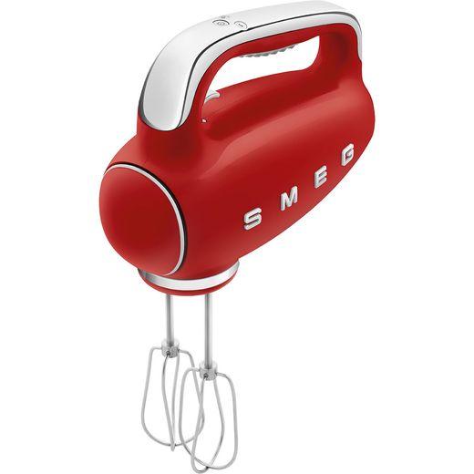 Smeg 50's Retro HMF01RDUK Hand Mixer with 3 Accessories - Red