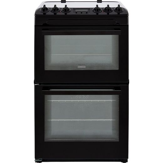 Zanussi ZCV46250BA 55cm Electric Cooker with Ceramic Hob - Black - A/A Rated