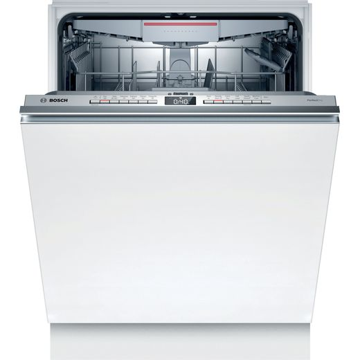 Bosch Serie 6 SMV6ZCX01G Wifi Connected Fully Integrated Standard Dishwasher - Stainless Steel Control Panel - A+++ Rated