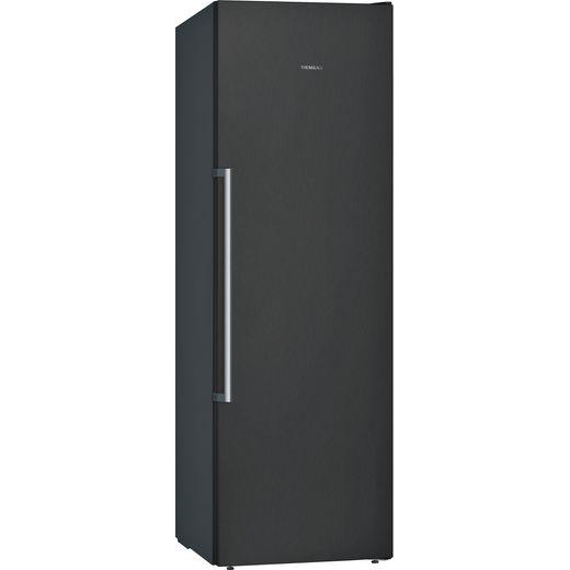 Siemens IQ-500 GS36NAXFV Frost Free Upright Freezer - Black - E Rated