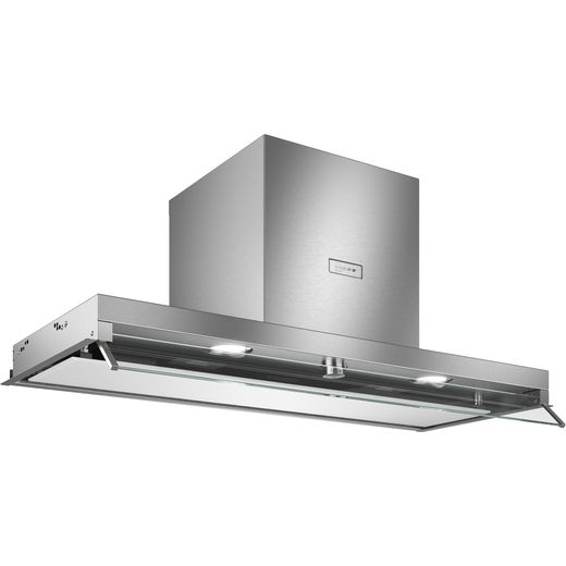 NEFF N70 D94XAF8N0B 89 cm Canopy Cooker Hood - Stainless Steel - B Rated