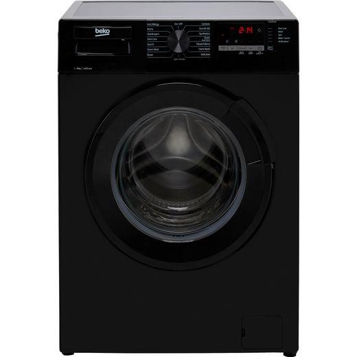 Beko WTL84151B 8Kg Washing Machine with 1400 rpm - Black - C Rated