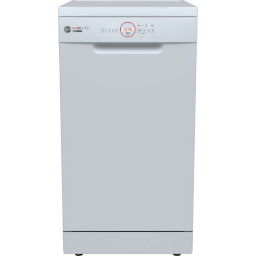 Hoover H-DISH 300 HDPH2D1049W Slimline Dishwasher - White - E Rated
