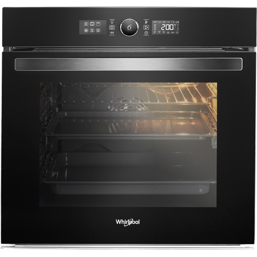 Whirlpool Absolute AKZ96230NB Built In Electric Single Oven - Black - A+ Rated