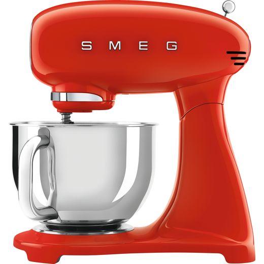 Smeg 50's Retro SMF03RDUK Stand Mixer with 4.8 Litre Bowl - Red