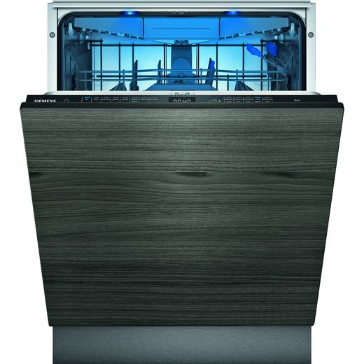 Siemens IQ-500 SN95ZX61CG Wifi Connected Fully Integrated Standard Dishwasher - Black Control Panel - C Rated