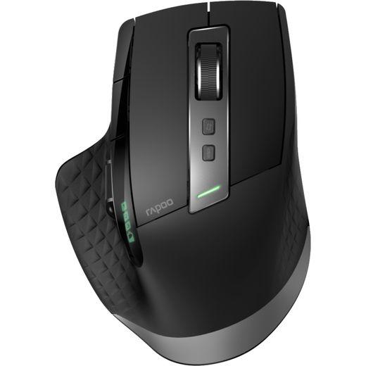 Rapoo MT750S Multi-mode Bluetooth / Wireless USB Optical Mouse - Black