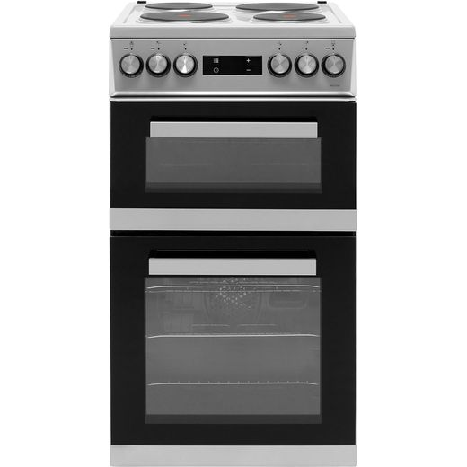 Beko KDV555AS Electric Cooker - Silver - Needs 9.6KW Electrical Connection