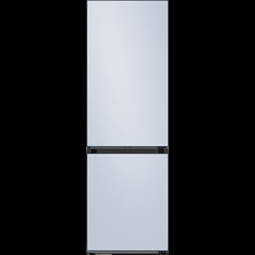 Samsung Bespoke RB34A6B2E48 70/30 Frost Free Fridge Freezer - Satin Sky Blue - E Rated