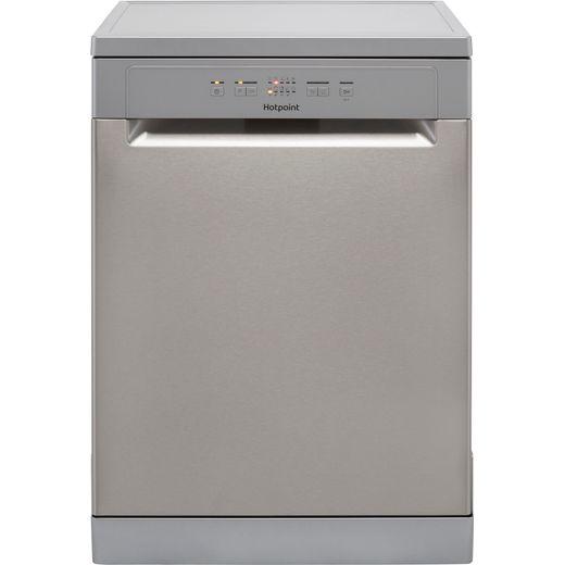 Hotpoint HFC2B19XUKN Standard Dishwasher - Stainless Steel