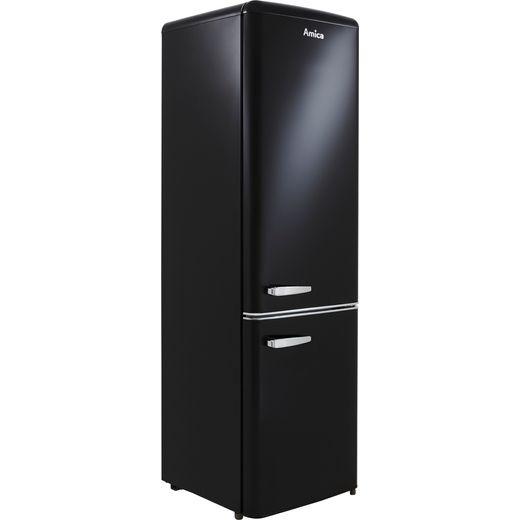 Amica FKR29653B 60/40 Fridge Freezer - Black - F Rated