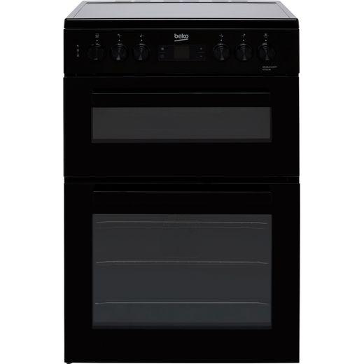Beko KTC613K Electric Cooker with Ceramic Hob - Black