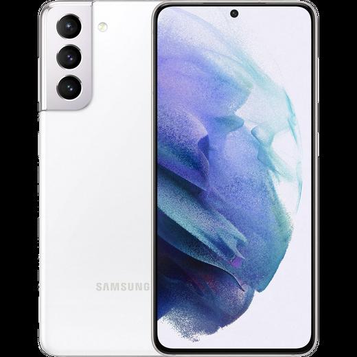 Samsung Galaxy S21 5G 256GB Smartphone in Phantom White