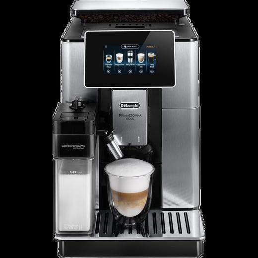 De'Longhi PrimaDonna ECAM610.75.MB Wifi Connected Bean to Cup Coffee Machine - Black
