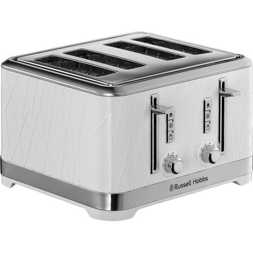 Russell Hobbs Structure 28100 4 Slice Toaster - White