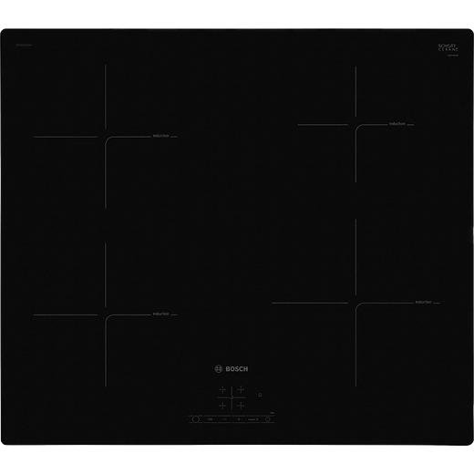 Bosch Serie 4 PUE611BF1B Built In Induction Hob - Black