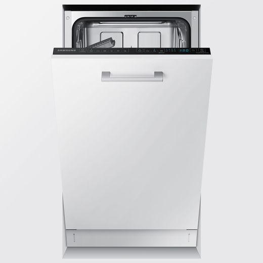 Samsung DW50R4040BB Fully Integrated Slimline Dishwasher - Black Control Panel - F Rated