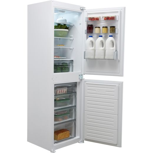 Belling B50509FF Integrated 50/50 Frost Free Fridge Freezer with Sliding Door Fixing Kit - White - F Rated