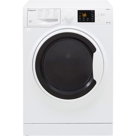 Hotpoint RDG8643WWUKN 8Kg / 6Kg Washer Dryer with 1400 rpm - White - D Rated
