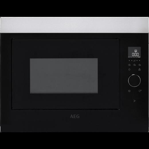 AEG MBE2658SEM Built In Microwave - Stainless Steel