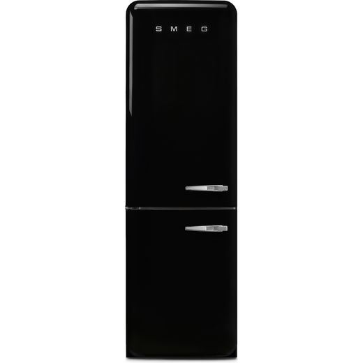 Smeg Left Hand Hinge FAB32LBL5UK 60/40 Frost Free Fridge Freezer - Black - D Rated