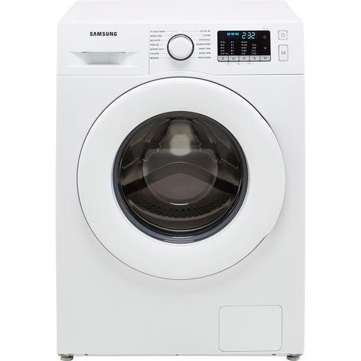Samsung Series 5 ecobubble™ WW70TA046TE 7Kg Washing Machine with 1400 rpm - White - B Rated
